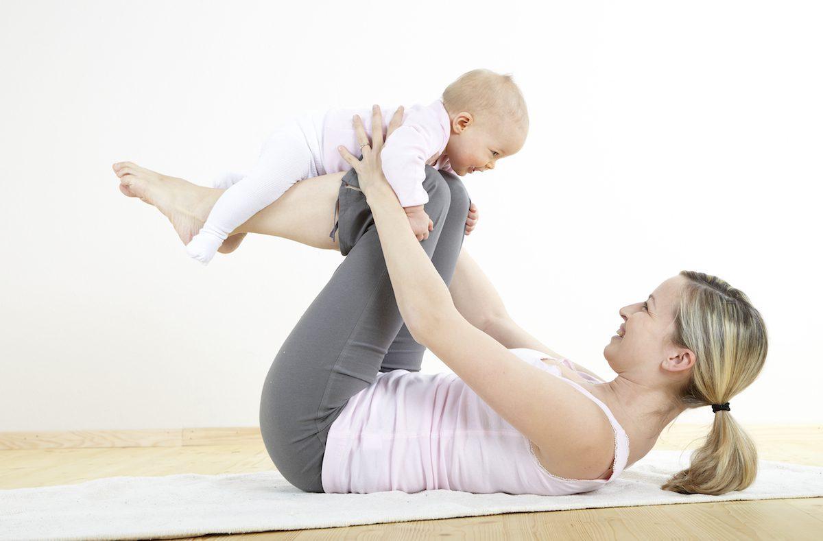 Postpartum jóga