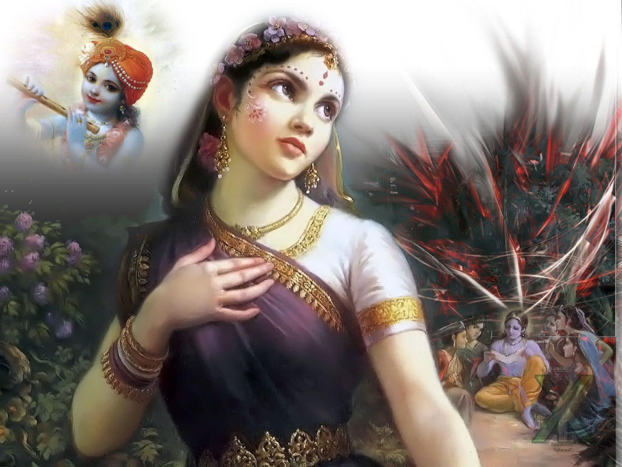 Védikus nőalakok, istennők a hinduizmusban