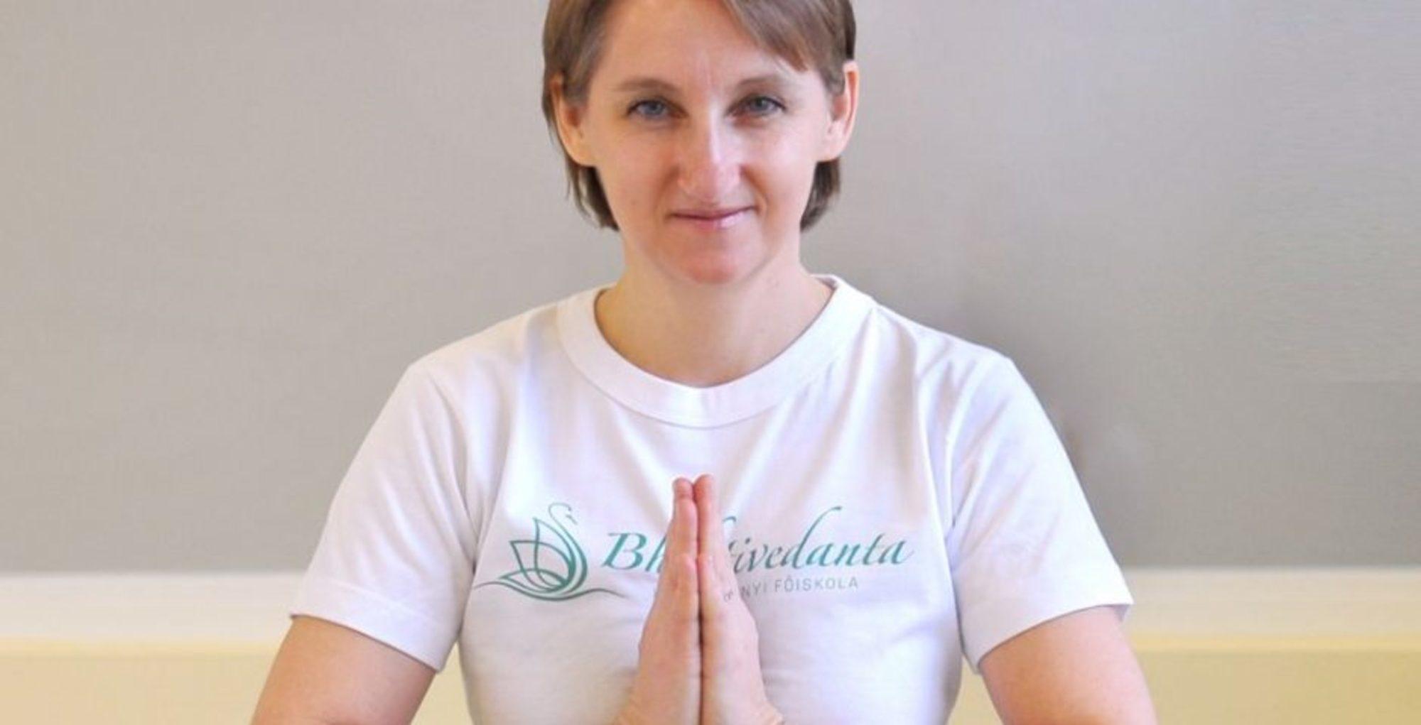 Jógainterjú Adamik Viktória jógaoktatóval