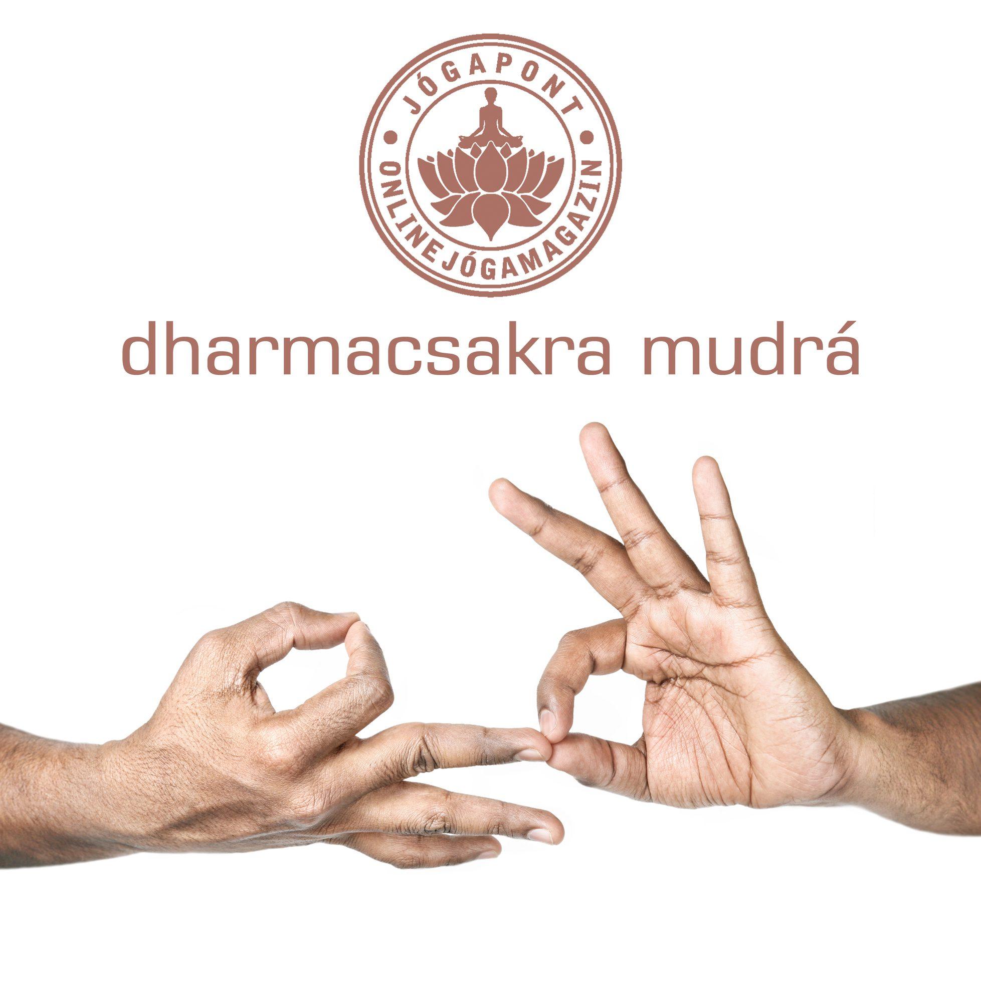 Dharmacsakra mudrá