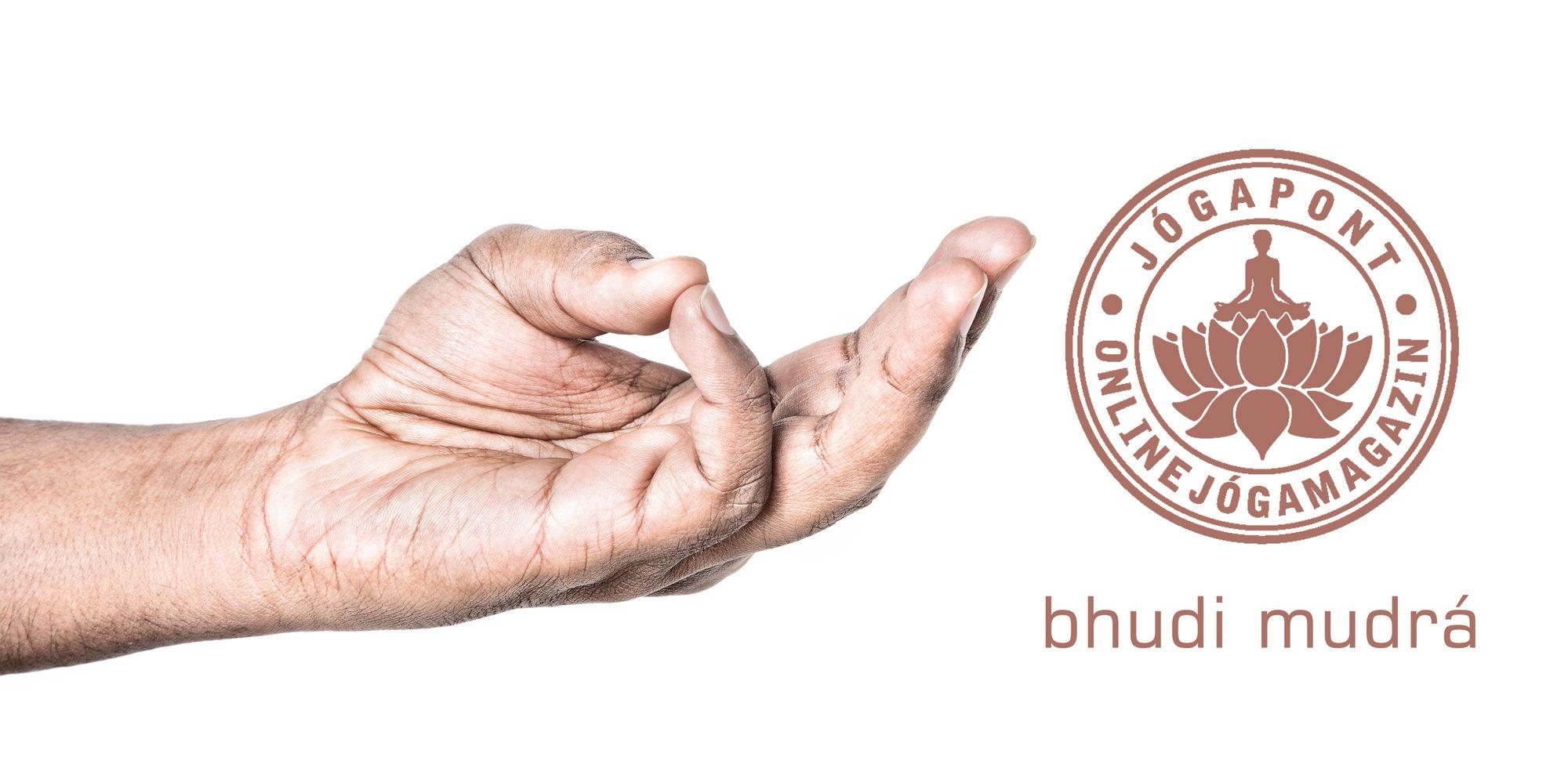 Bhudi mudrá