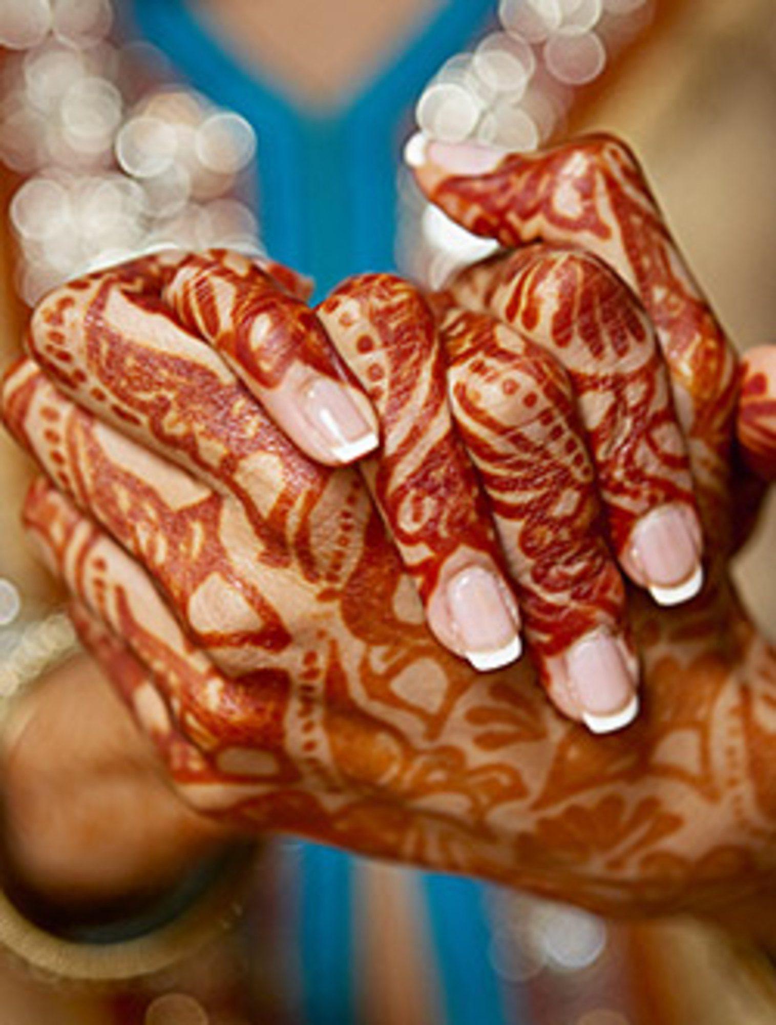 A hennafestés illatai