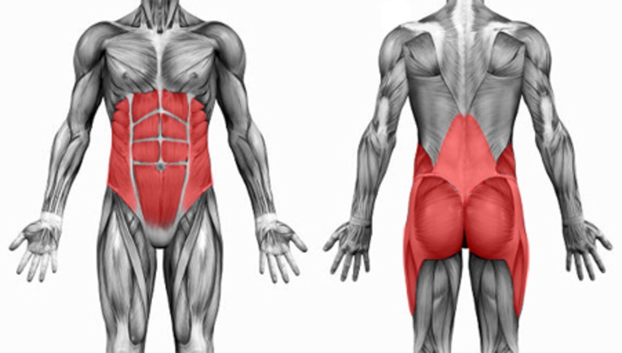 Core erősítő gyakorlatsor 10 percben