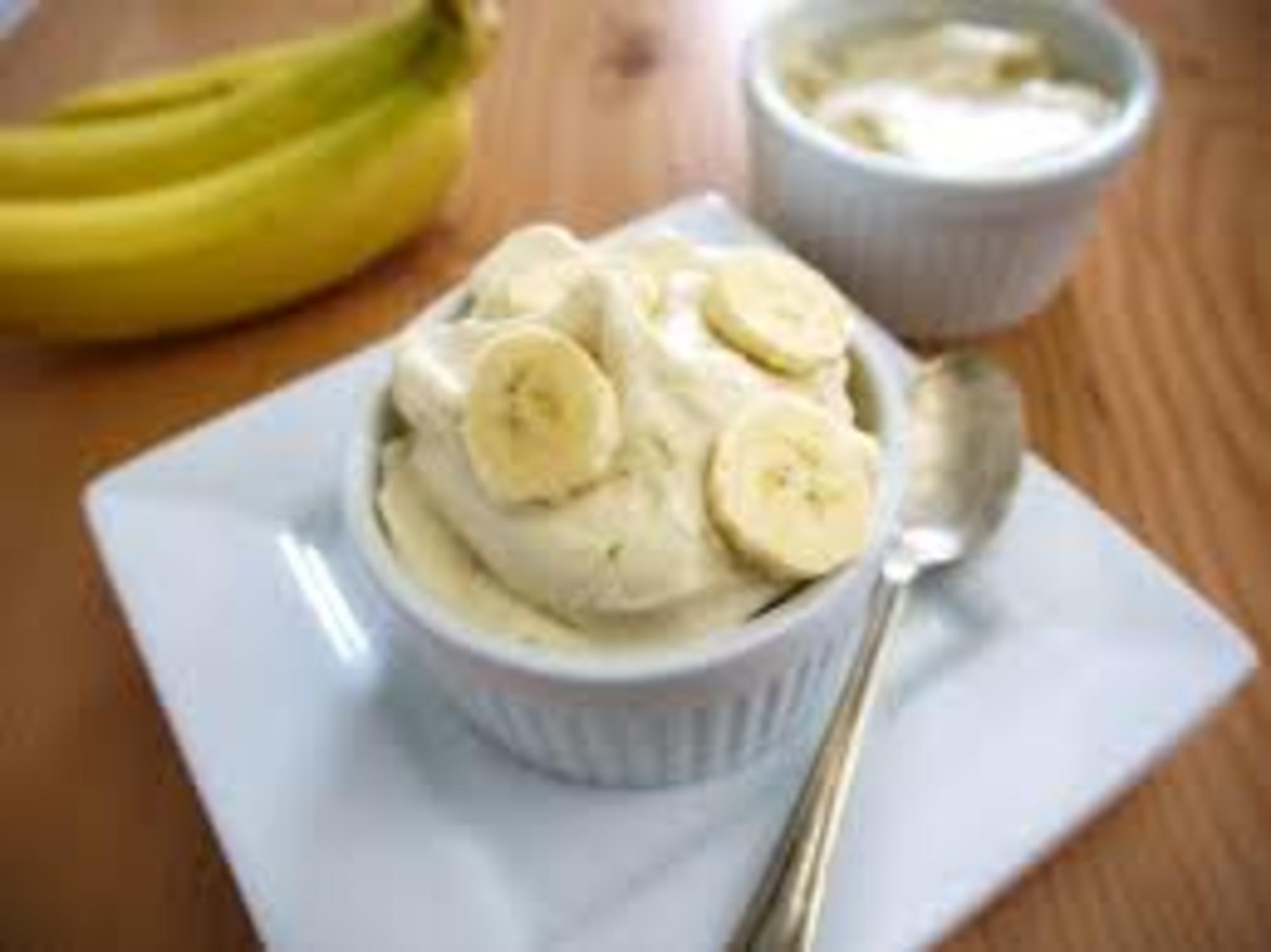 Recept: Banán fagyi – glutén, tej és cukormentes