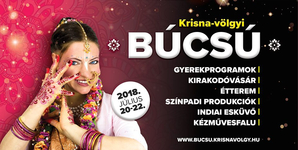 Krisna-völgyi búcsú 2018. július 20-22. között