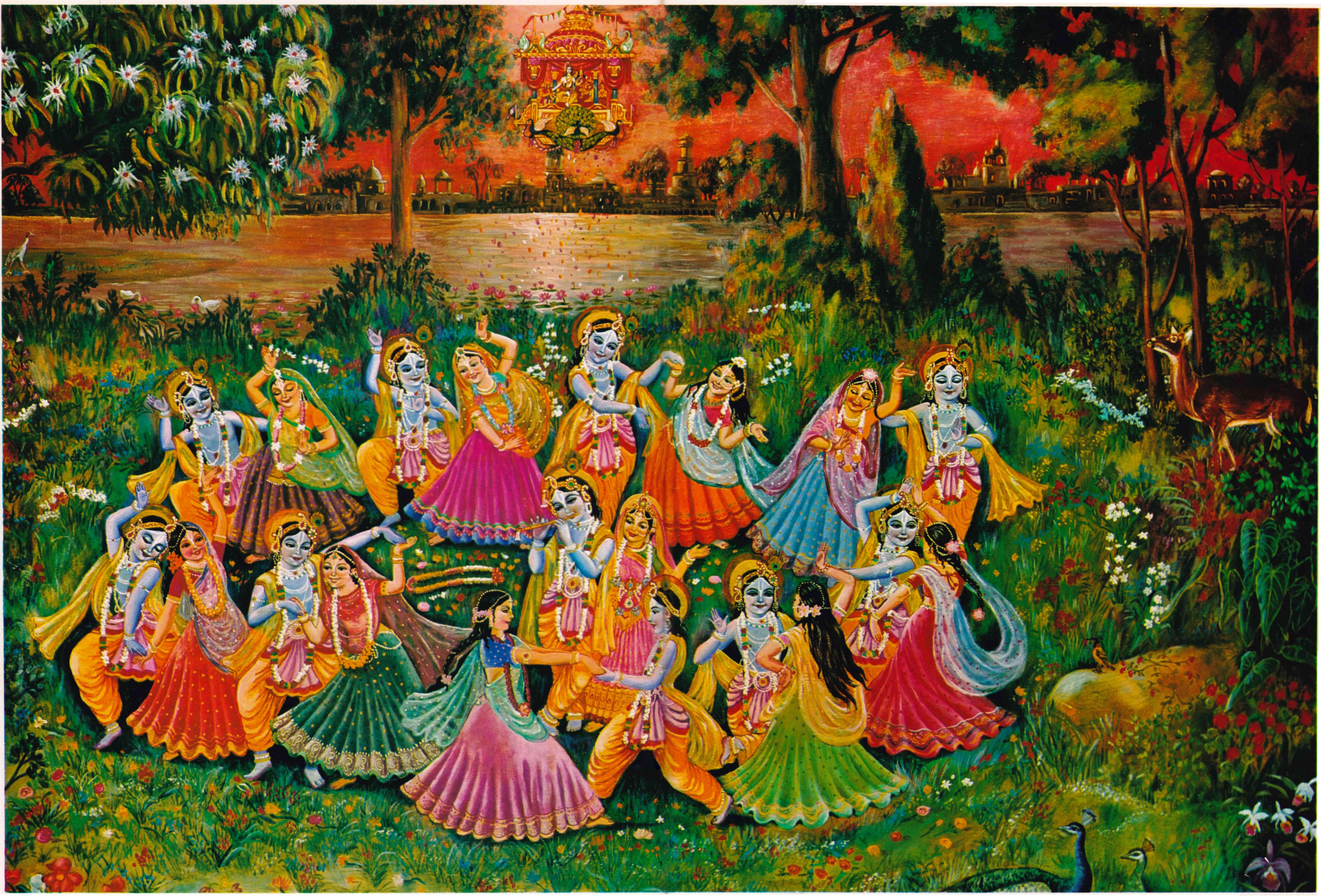 A tánc szerepe Śrī Kṛṣṇa kedvteléseiben