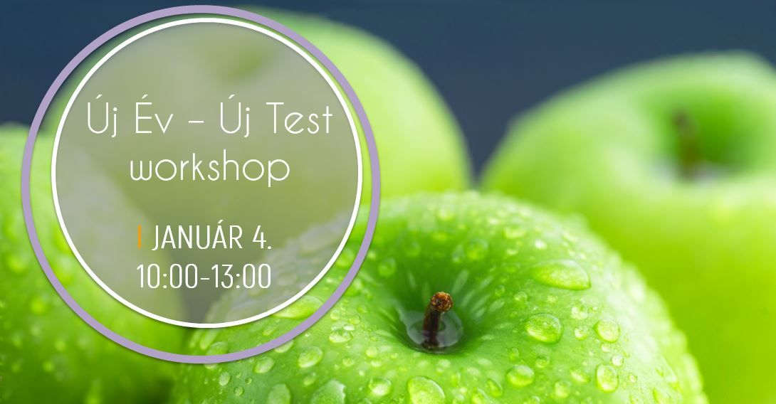 Új év, új test workshop – 2020