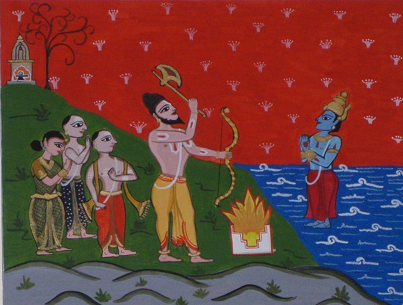 Paraśurāma és a kṣatriyák kiirtása