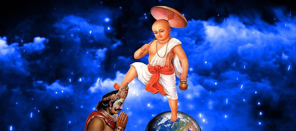 Isten harcos kedvtelései: Vāmanadeva és Bali Mahārāja